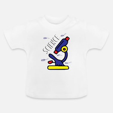 Nörd Science Bacteria Microscope - T-shirt baby