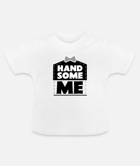 Joli T-shirts Bébé - Sweet Me Cute Self Loving - T-shirt Bébé blanc