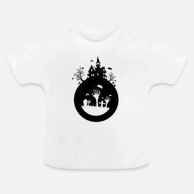 Haunted haunted house - Baby T-Shirt