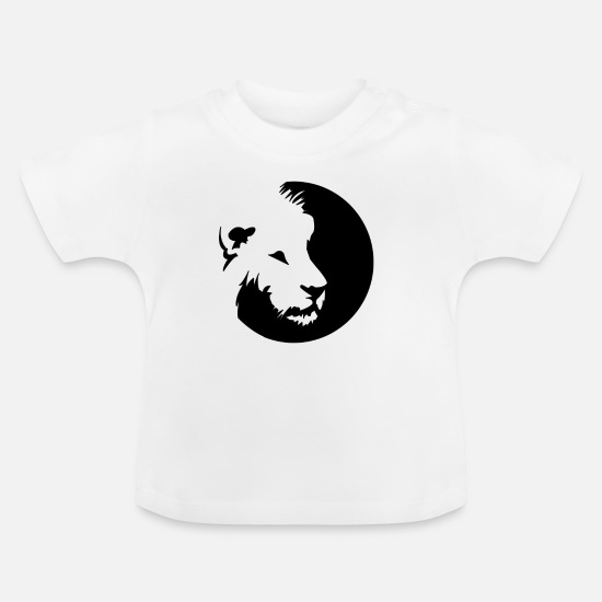 Gift Idea Baby Clothes - lion - Baby T-Shirt white