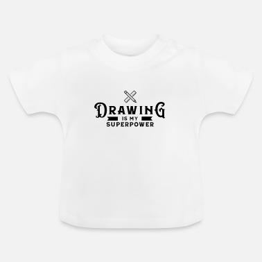 Draw Drawing Drawing Draftsman drawing drawing - Baby T-Shirt