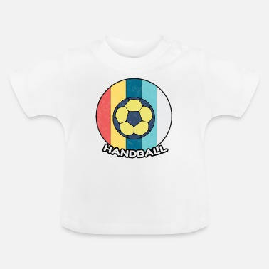Håndbold Håndball Vintage Sport Ball Club Gave - Baby T-shirt