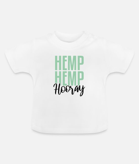 Medicine Baby T-Shirts - Hemp Hemp Hooray | Cannabidiol oil, CBD oil - Baby T-Shirt white