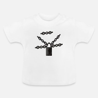 Chain Chains Chain links Steel chains Metal chains - Baby T-Shirt