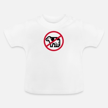 Meat No meat - Baby T-Shirt
