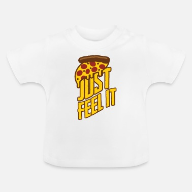 Tasty Great pizza, fast food - Baby T-Shirt