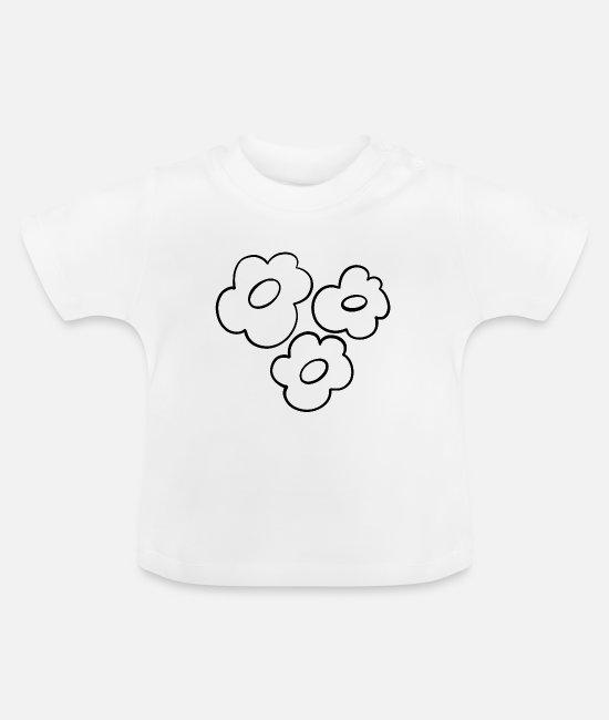 svart ig hvit skjorte baby