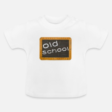 Old School old school - T-shirt Bébé
