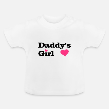 Tochter Daddy's Girl I love Dad i heart daddy, herz - Baby T-Shirt