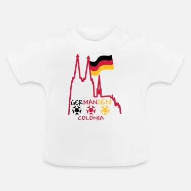 Germania Colonia Alemania Germania Colonia - Camiseta bebé