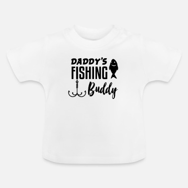Zoon Vader zoon vissen - Baby T-shirt