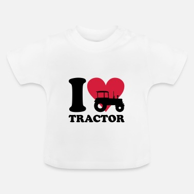Farmer I love Tractor - Baby T-Shirt