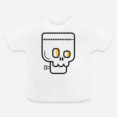 Monster Halloween-zombiemonster läskigt - T-shirt baby