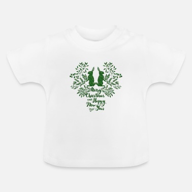 Weekend glædelig jul - Baby T-shirt