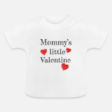 Valentine's Day Mommy's Little Valentine - Camiseta bebé