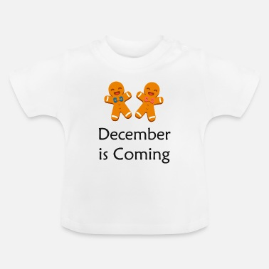 Advent Kerstmis | Advent cookies peperkoek advent - Baby T-shirt