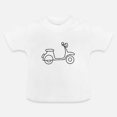 Ps Motorcycle Motobike Motorcyclist Curve Devil - Baby T-Shirt