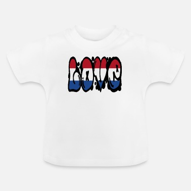 National Amour Pays-Bas - graffiti - T-shirt Bébé