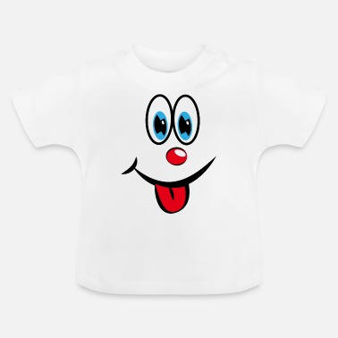Smiley with tongue - Baby T-Shirt