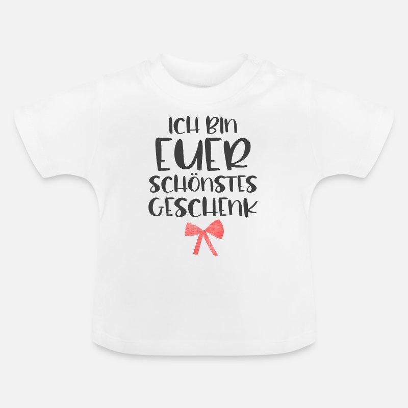 Mercado De Navidad Ropa de bebé - Soy tu mejor regalo para navidad - Camiseta  bebé fe2fa3804691