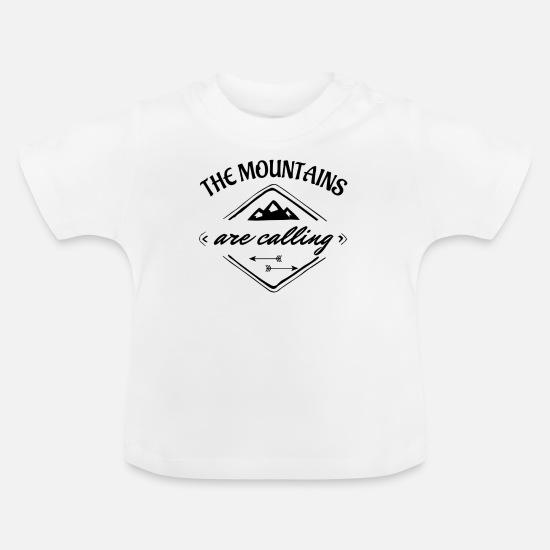 Berge Geschenkidee Sprüche Natur Wandern Klettern Baby T