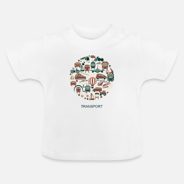 Transport transport - T-shirt Bébé