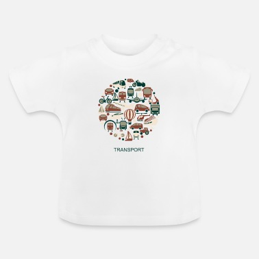 Transportation transport - Baby T-Shirt