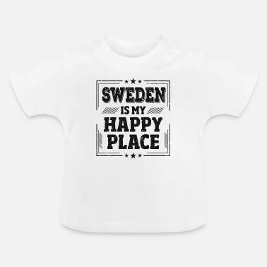Shops Sverige Sayings Sayings Cup Travel Shirt Present - Baby-T-shirt