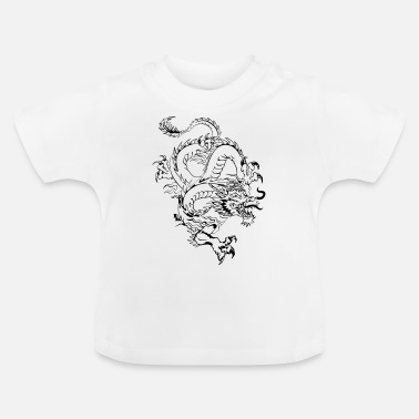 Chinese dragon by dk - Baby T-Shirt