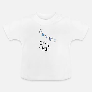 Baby Shower It's a boy! - Baby T-Shirt