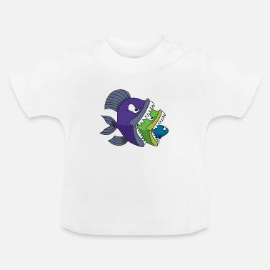 Pedir en línea Piraña Ropa de bebé   Spreadshirt