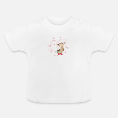 Officialbrands Animal Planet Deer and Cat - Baby T-Shirt