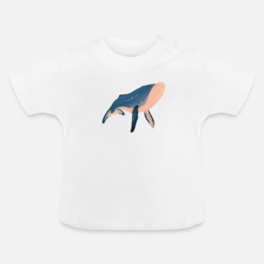 Illustration Whale illustration - T-shirt baby