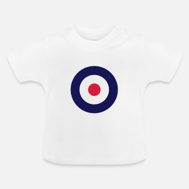 Mods Mod Sign For White Shirts - Baby T-Shirt