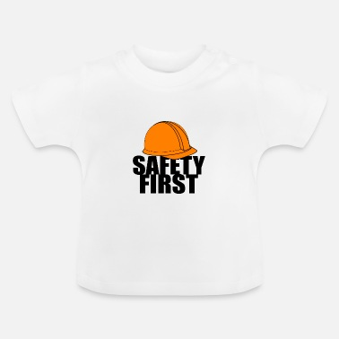 Safety Helmet Safety First Safety First Protective Helmet Protect - Baby T-Shirt