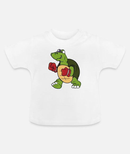Turtle Baby T-Shirts - turtle - Baby T-Shirt white