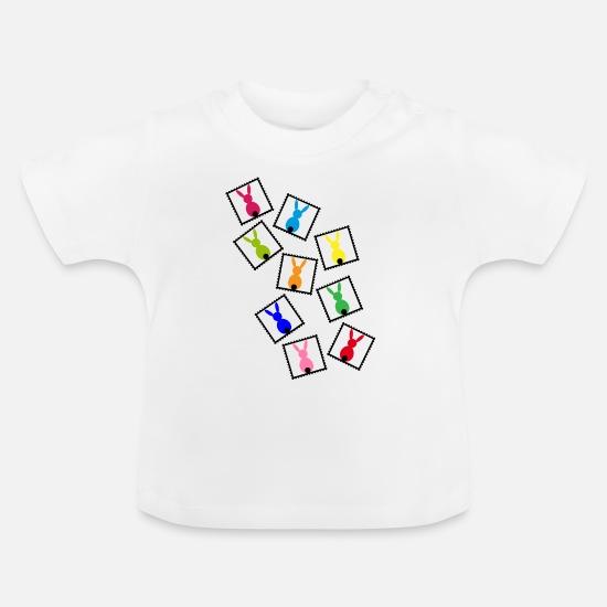 best service 67eba 4695d Marken mit Osterhasen Baby T-Shirt | Spreadshirt