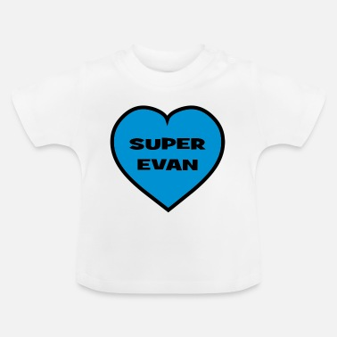 Evan Super Evan - T-shirt Bébé