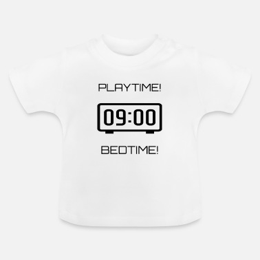 Clock PLAYTIME BEDTIME CLOCK - T-shirt Bébé