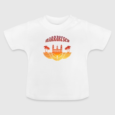 Marrakech Marrakech Palace with palm trees / gift North Africa - Baby T-Shirt