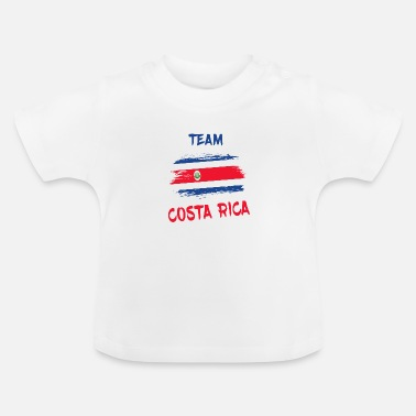 Spaanse Team Costa Rica / Gift Caribbean San Jose - Baby T-shirt