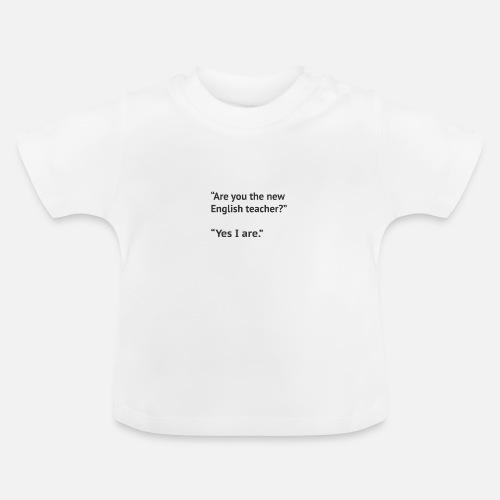 coole t shirt sprüche auf englisch Lustiger Englisch Lehrer Spruch.coole Geschenkidee Baby T Shirt  coole t shirt sprüche auf englisch