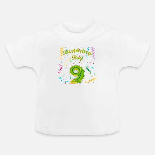 Birthday Boy 9 Baby T Shirt