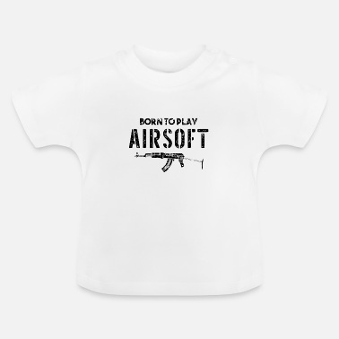 Assault Rifle Rifle Assault Rifle Airsoft Airsoft BBs Gift - Baby T-Shirt