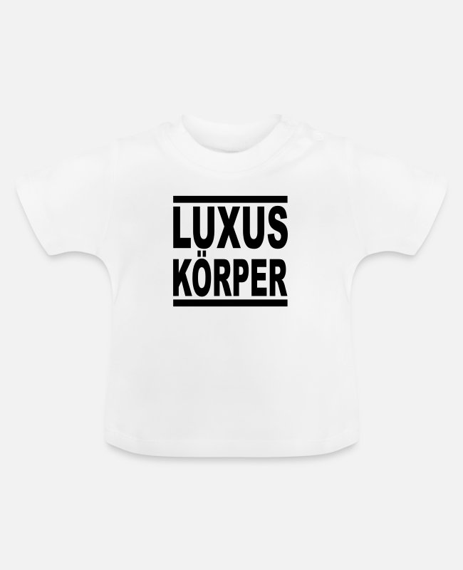 Sporty Baby T-shirts - luksus krop - Baby T-shirt hvid