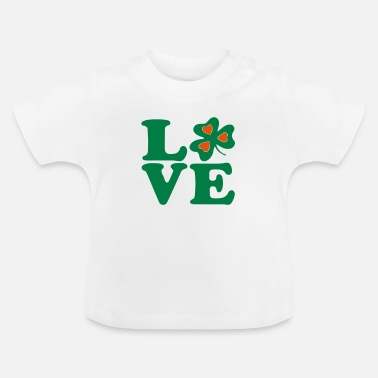 Most Bucket List Languages To Learn People To Meet And Fall In Love Countries To Visit And Travel To ♥ټ☘I Love Irish-Ireland-Happy St Patty's Day☘ټ♥ - Baby T-Shirt