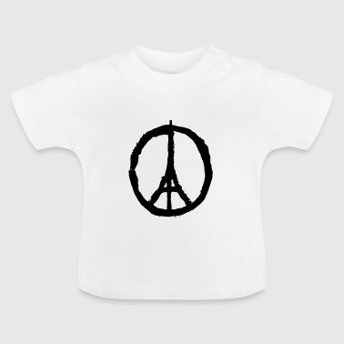 Pray For Paris Pray for Paris - T-shirt Bébé
