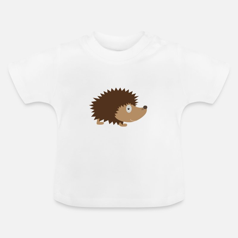 Acorn Baby Clothing - Sweet Hedgehog - Baby T-Shirt white