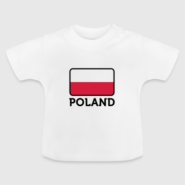 Poland National Flag of Poland - Baby T-Shirt