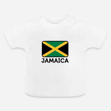 Jamaica National Flag of Jamaica - Baby T-Shirt